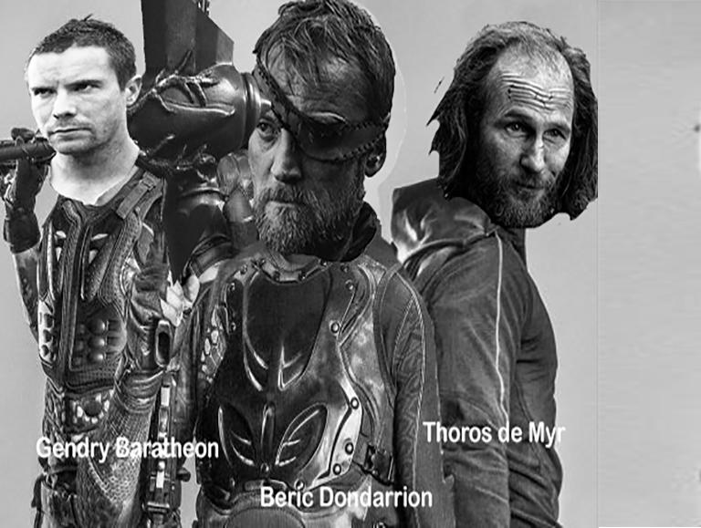 Sticker other dreamteam got jon jorah tormund sandor thoros dondarrion