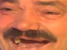 Sticker risitas hd zoom rire dents