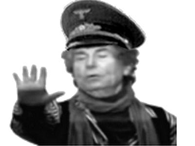 Sticker risitas jesus salut hitler bosch nazi heil