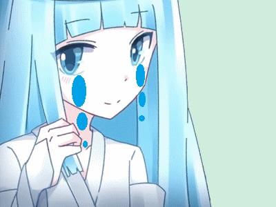 Sticker kikoojap ghost chan anime anime high school simulator