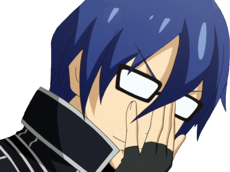 Sticker kikoojap hajimete no gal anime reflexion reflechis lunettes main killerjamme