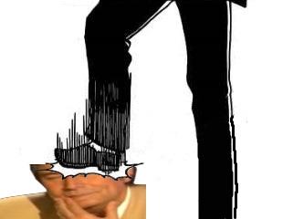 Sticker risitas jesus vs jacob pietinement pietiner ecrasement stomp ecraser destruction assassinat torture enfer fairy tail