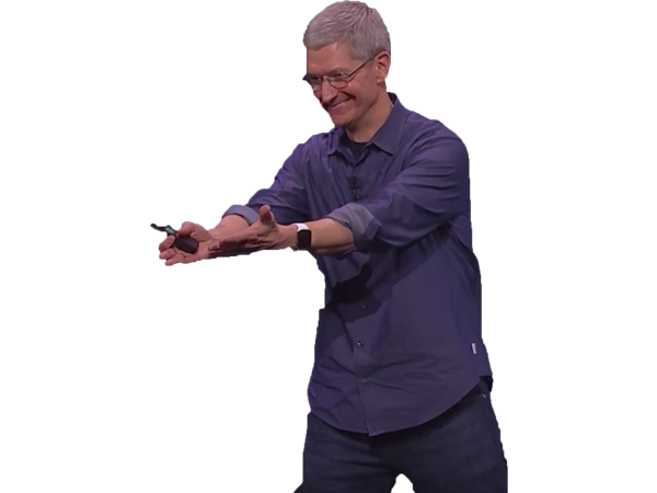Sticker other tim cook apple pigeon mac iphone ios macos