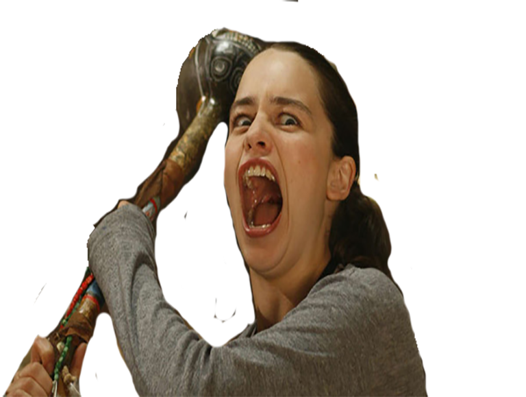 Sticker other got daenerys emilia clarke triassic attack
