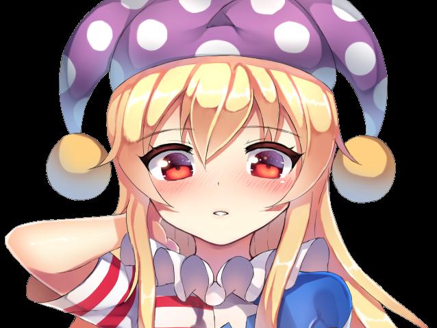 Sticker kikoojap clownpiece touhou 2ou