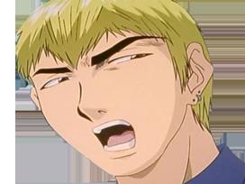 Sticker kikoojap gto onizuka eikichi fic blond anime manga