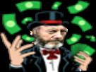 Sticker risitas sir davos game of thrones argent chapeau