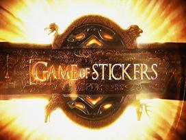 Sticker other got gos game of stickers