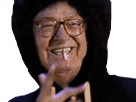 Sticker other jean marie le pen lepen clope cigarette fumee