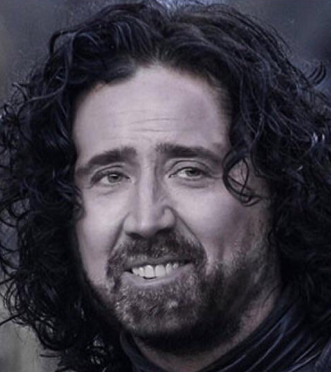 Sticker other jon snow nicholas cage