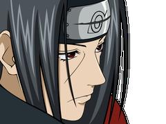 Sticker kikoojap itachi konoha naruto manga anime deter regard bagarre fight amaterasu sharingan yeux