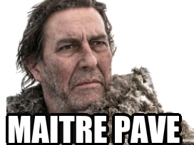 Sticker other mance rayder got game of thrones maitre pave pave