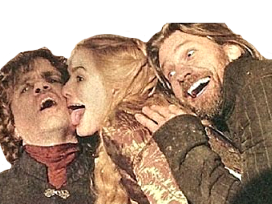 Sticker other jaime tyrion cersei lannister got game of thrones