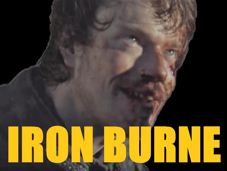 Sticker other theon greyjoy got iron born burne