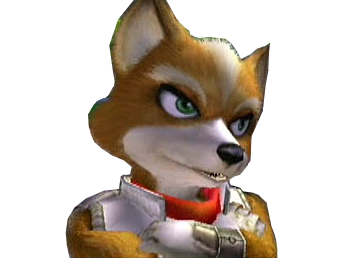 Sticker other starfox mc cloud adventures gamecube siege attend patiente bras croises pose amuser osef indifferent tranquille fier sourire renard furry tinnova