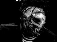 Sticker risitas issou peur creepy deforme horrible 666 eussou eugneuugneu