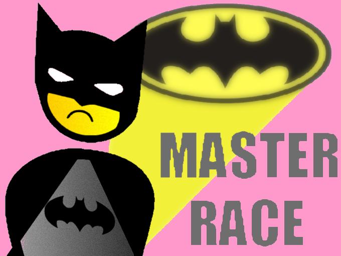 Sticker jvc batman signaleur masterrace