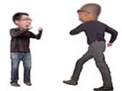 Sticker risitas brocante kirby game chhay dee combat final