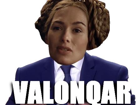 Sticker other cersei valonqar politique