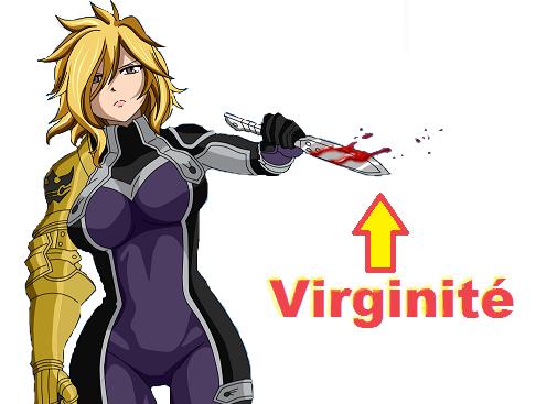Sticker virginite dimaria couteau poignard dague viol fairy tail premier sang saignement porno hentai femme meuf