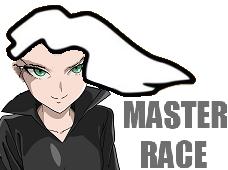 Sticker jvc maitre course master race tatsumaki tornade tragique one punch man