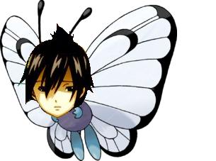 Sticker kikoojap zeleph pokemon papillusion papillon aizen bleach fairy tail boss final