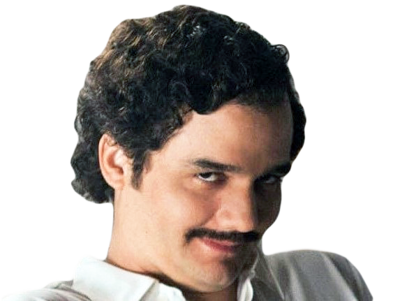 Sticker other pablo escobar wagner moura narcos