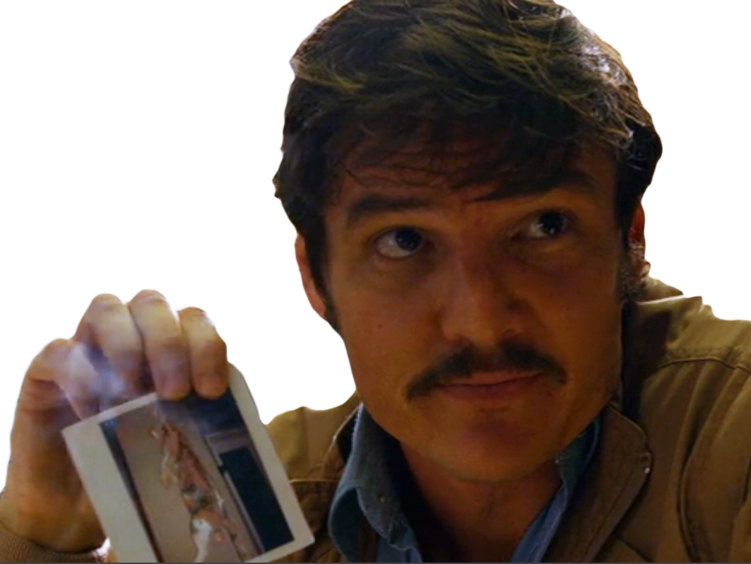 Sticker other narcos javier pena pedro pascal dea cat