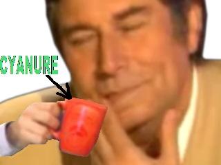 Sticker tasse cyanure suicide cafe jesus quintero empoisonnement condescendant tg ta gueule