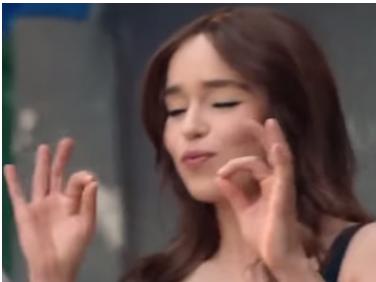 Sticker emilia clarke got daenerys