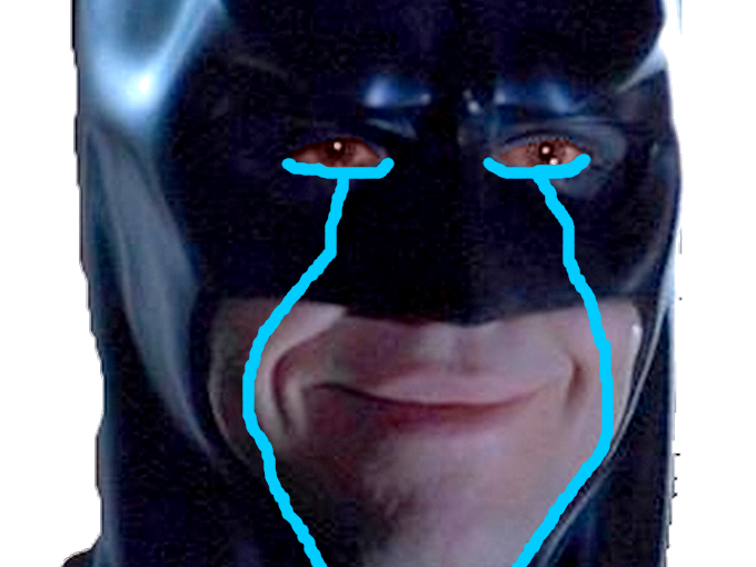 Sticker other batman signaleur snif smile content