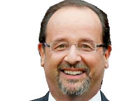 Sticker politic francois hollande barbe ps parti socialiste bg faceapp