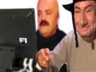 Sticker goy juif ordinateur risitas jesus