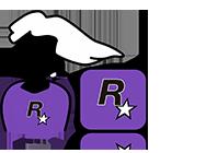 Sticker jvc rockstar games gta rdr red dead redemption max payne master race maitre course sticker hap
