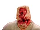 Sticker anus horreur risitas creepy