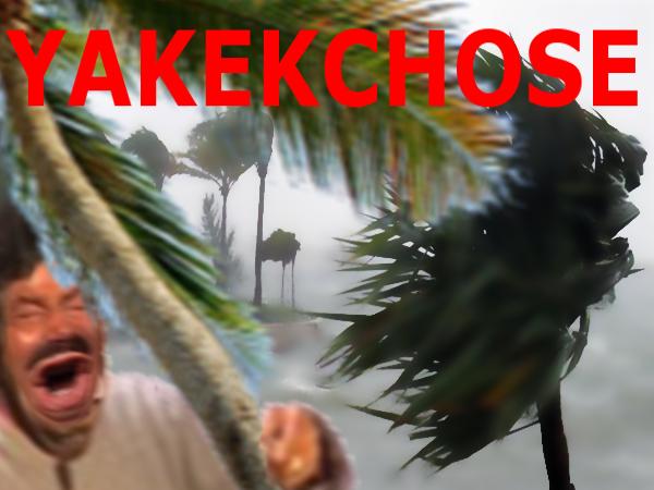 Sticker eussou ouragan yakekchose air vent purification