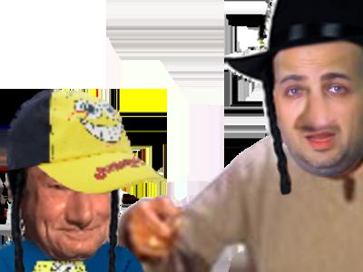 Sticker papa epenser ecolier juif enfant