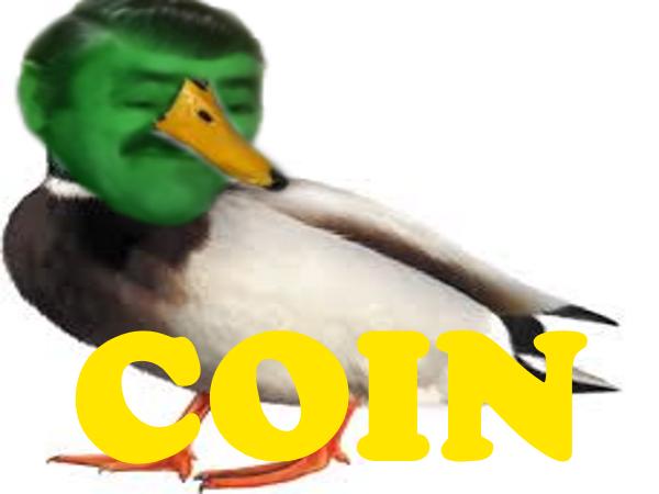 Sticker canard cuck coin risicanard risitas animal animaux