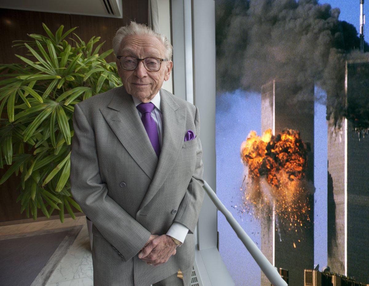 Sticker other larry chance troll silverstein avion tour wtc 11 septembre vue explosion bol assurance home