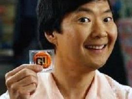 Sticker other senor ben chang ken jeong community capote preservatif condom