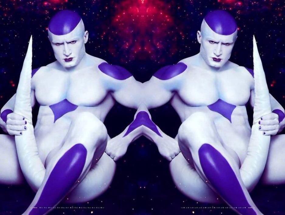 Sticker freezer dragon ball z dbz cospay univers espace kikoojap