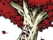 Sticker other weirwood tree got arbre coeur