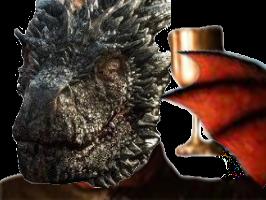 Sticker other drogon got dragon cup verre toast