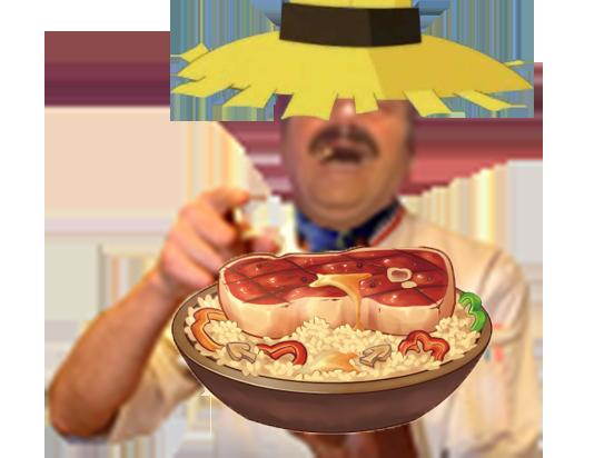 Sticker kikoojap wakfu alibert blanquettes chef michel dumas