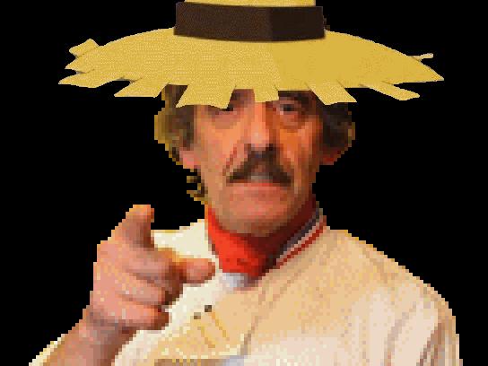 Sticker kikoojap wakfu chef michel dumas alibert chapeau de paille