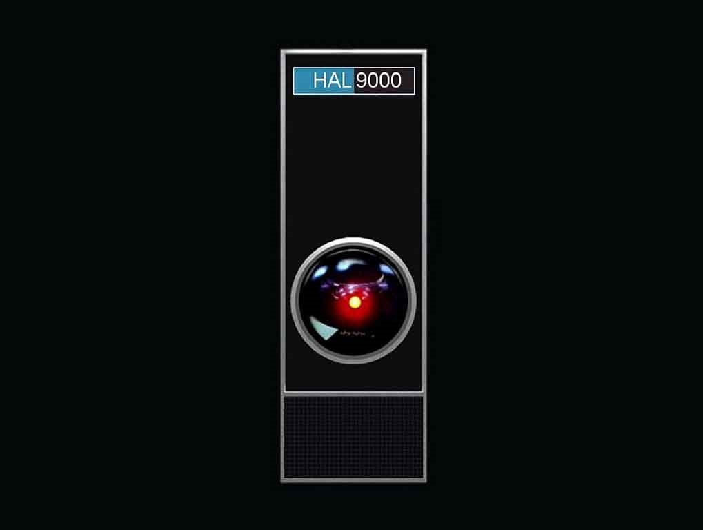 Sticker other hal 9000 odyssee de lespace robot ia oeil watching you