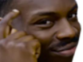 Sticker other black guy noir thinking smart malin roll safe