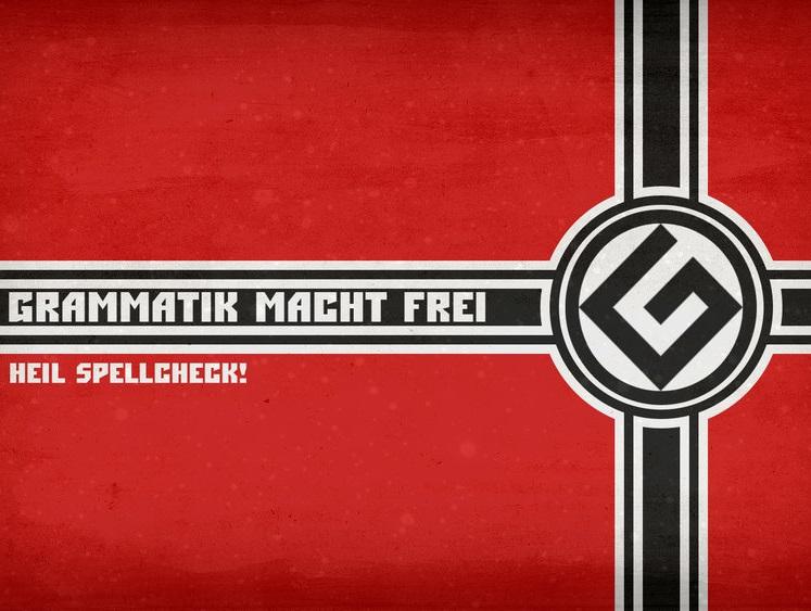 Sticker jvc grammar nazi bescherelle orthographe conjugaison vocabulaire drapeau