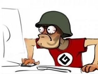 Sticker jvc grammar nazi bescherelle orthographe conjugaison vocabulaire ordinateur