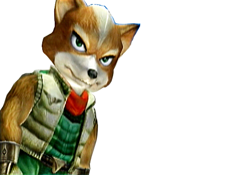 Sticker other starfox mc cloud adventures gamecube gc sans pitie merciless mepris degout mefiant enerve agace pas content renard furry tinnova